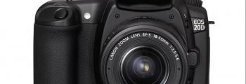 Premier APN Canon EOS 20D.